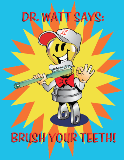 Brush-a-mania dr watt